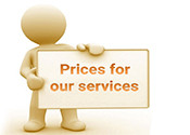 Price of the RSL Services